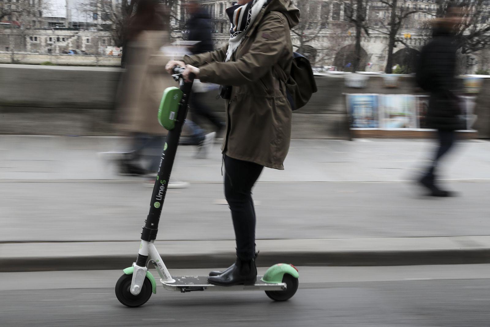 E-Scooter/ Frankreich