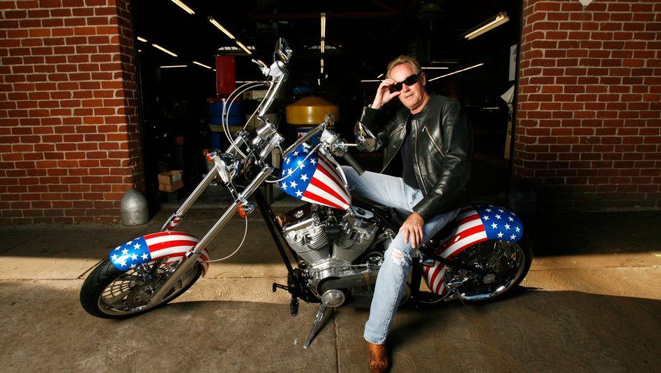 "Peter Fonda mit ""Captain America"" Bike: ""Vergiss die Puristen"""
