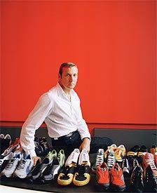 Theodor Barth, 2. Platz: Jochen Zeitz, Puma-Chef