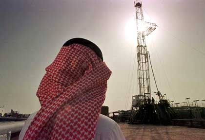 Quelle des Reichtums: Die Ölförderung macht Saudi-Arabien wohlhabend
