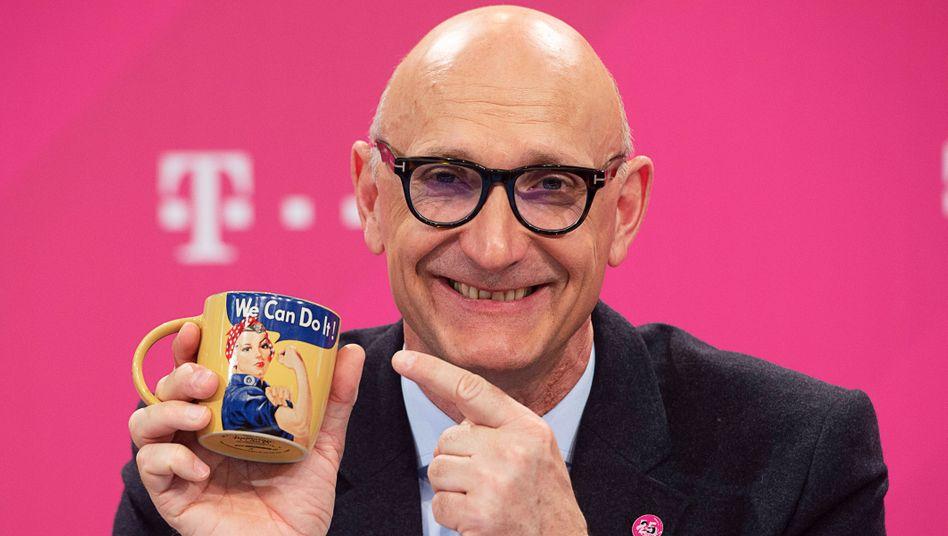 Ober-Tracer: Tim Höttges hat die App bei der Telekom zur Chefsache gemacht.