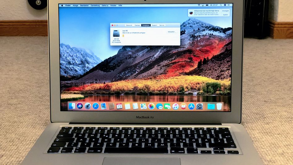 Apple-Macbook: Wegen Tastatur-Ausfällen versuchen Anwälte in den USA bereits Sammelklagen gegen Appel auf die Beine zu stellen