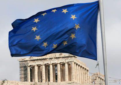 EU-Mitglied Griechenland: Die jährliche Steigerung der Reallöhne läge im Rahmen - wären da nicht die äußerst maßvollen Deutschen