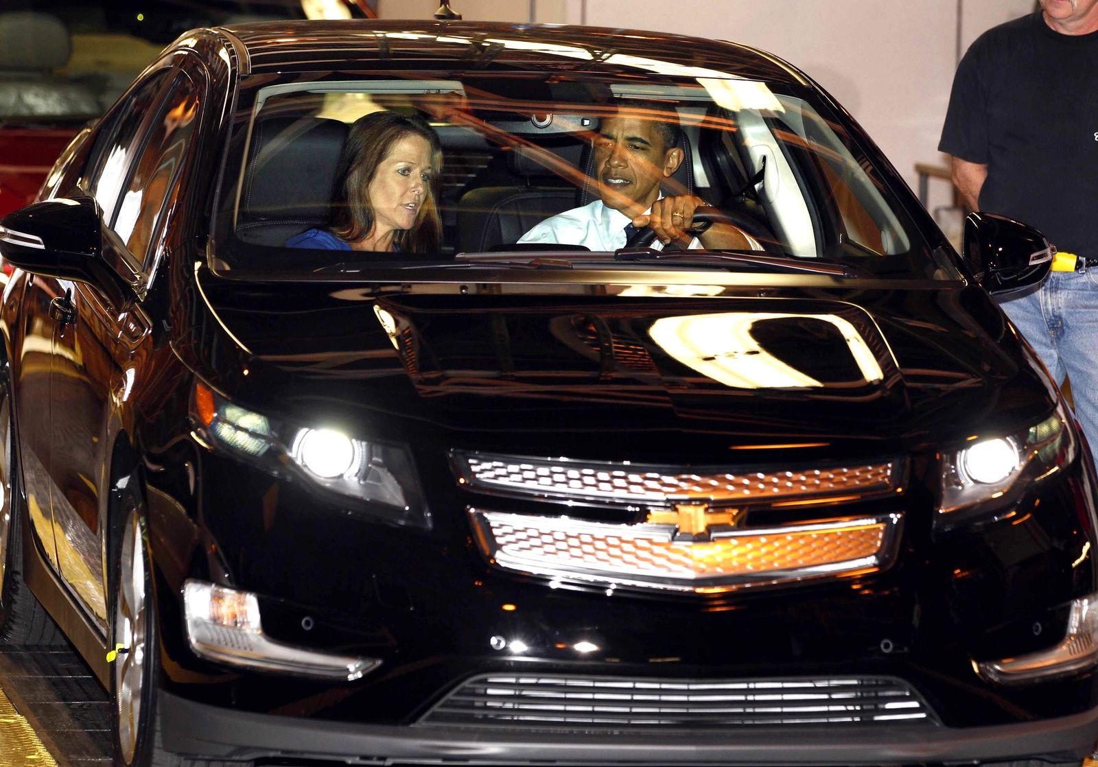 Obama/ Chevrolet Volt