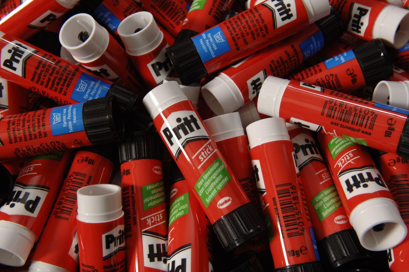 Henkel Klebstoffe / Produkte / Pritt-Stift / Klebestift