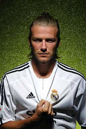 David Beckham: Fußballstar von Real Madrid