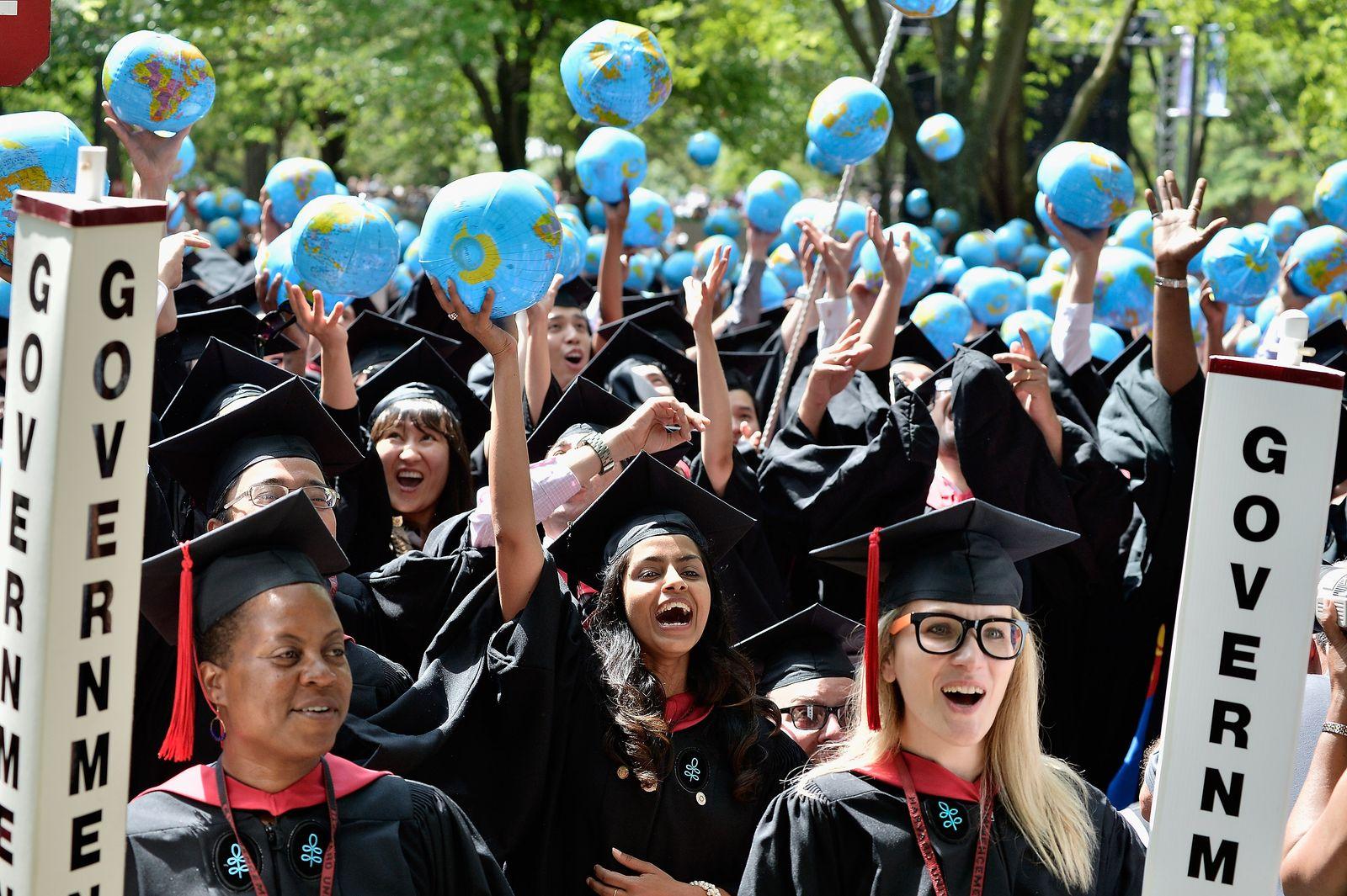 Harvard University 2015 Commencement