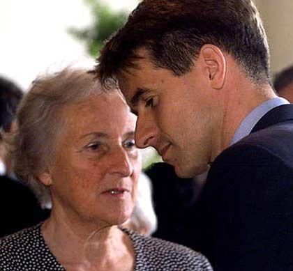 Die dritte Generation: Johanna Quandt mit ihrem Sohn Stefan