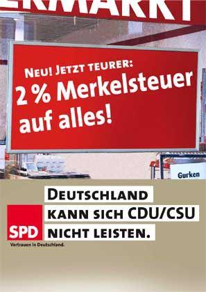 SPD-Wahlkampf: Mittlerweile gelten Steuererhöhungen als tragbar