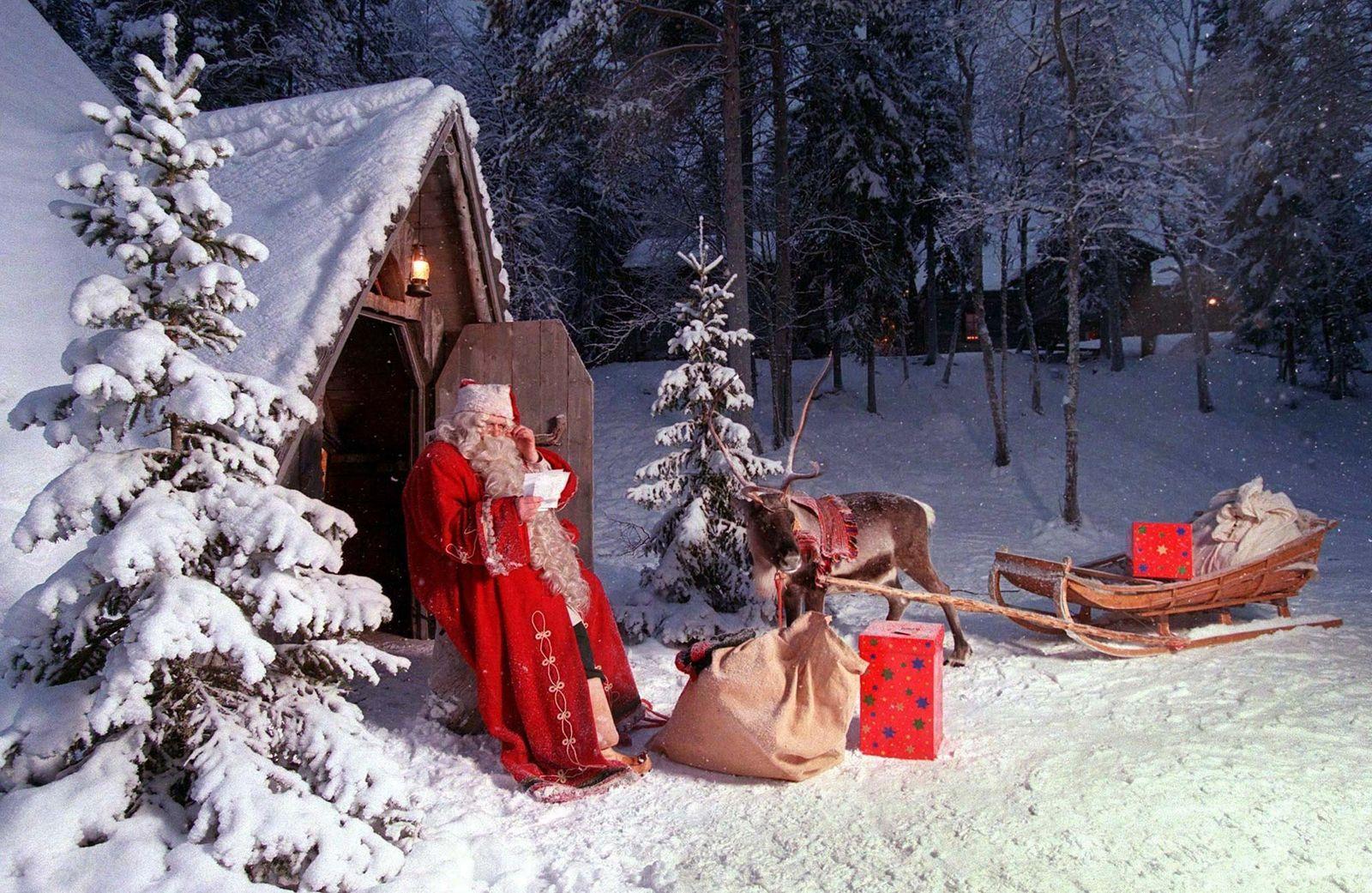 Finnland / Schnee / Winter / Weihnachten