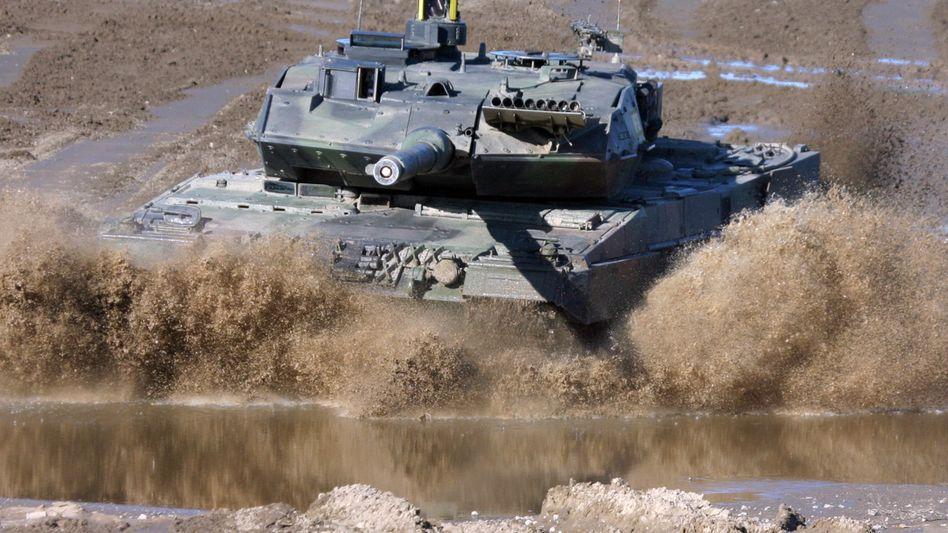 Leopard 2-Kampfpanzer: Ein Geschäft mit Katar könnte bis zu zwei Milliarden Euro schwer sein