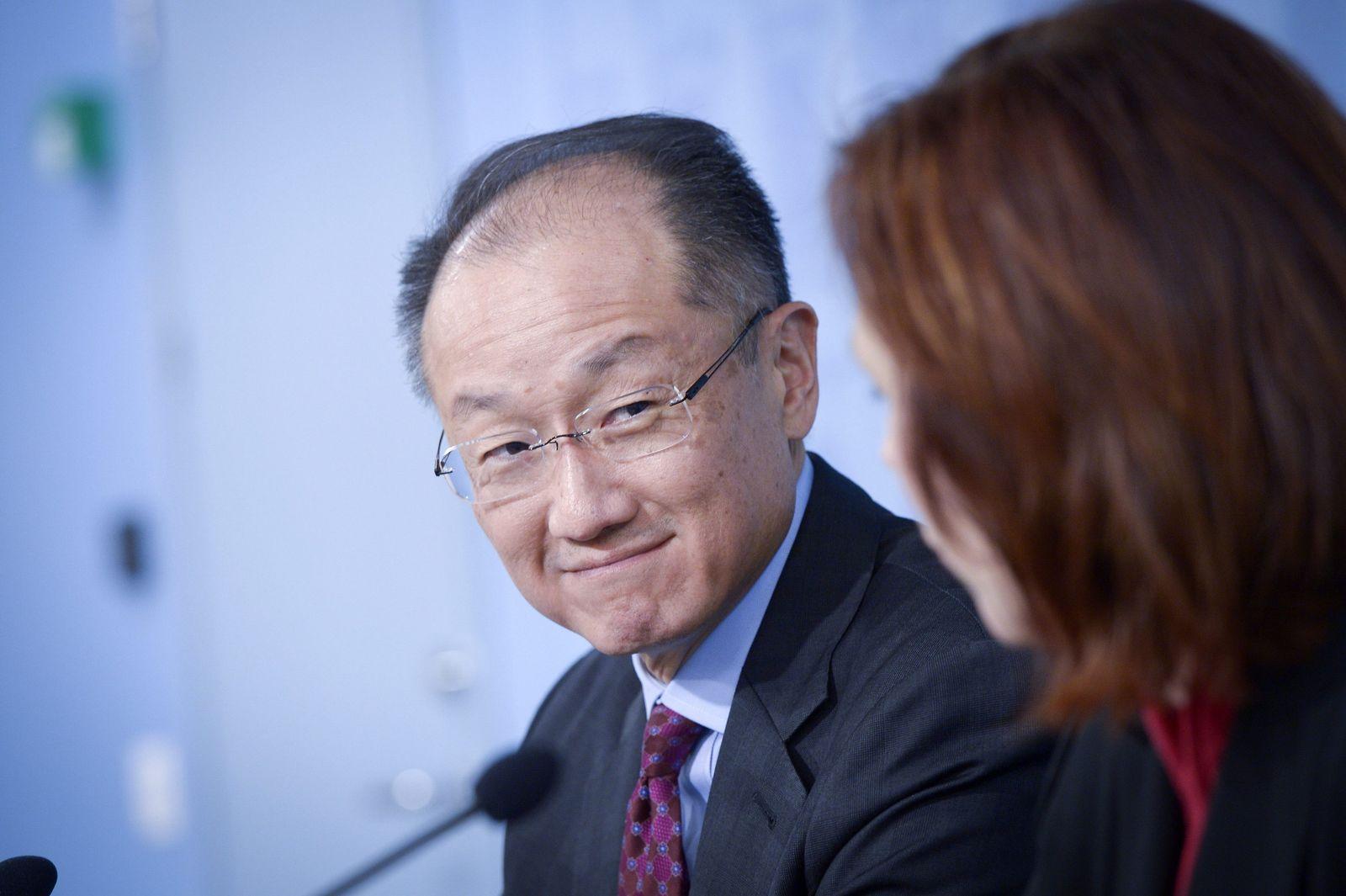 World Bank Group President Jim Yong Kim in Helsinki