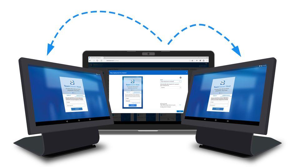 Geschäftsmodell von Teamviewer: Die Firma bietet Software für die Vernetzung von Fernwartung von Computern an