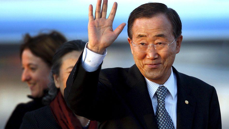 Wiedergewählt: UN-Generalsekretär Ban Ki Moon bleibt bis 2016 im Amt