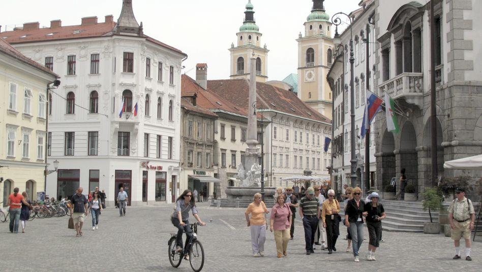 Altstadt von Ljubljana (Slowenien): Slowenen verärgert über Moody's