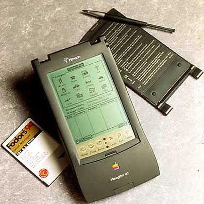 Apple Newton: Eine tolle Idee, aber der Zeit leider zu weit voraus