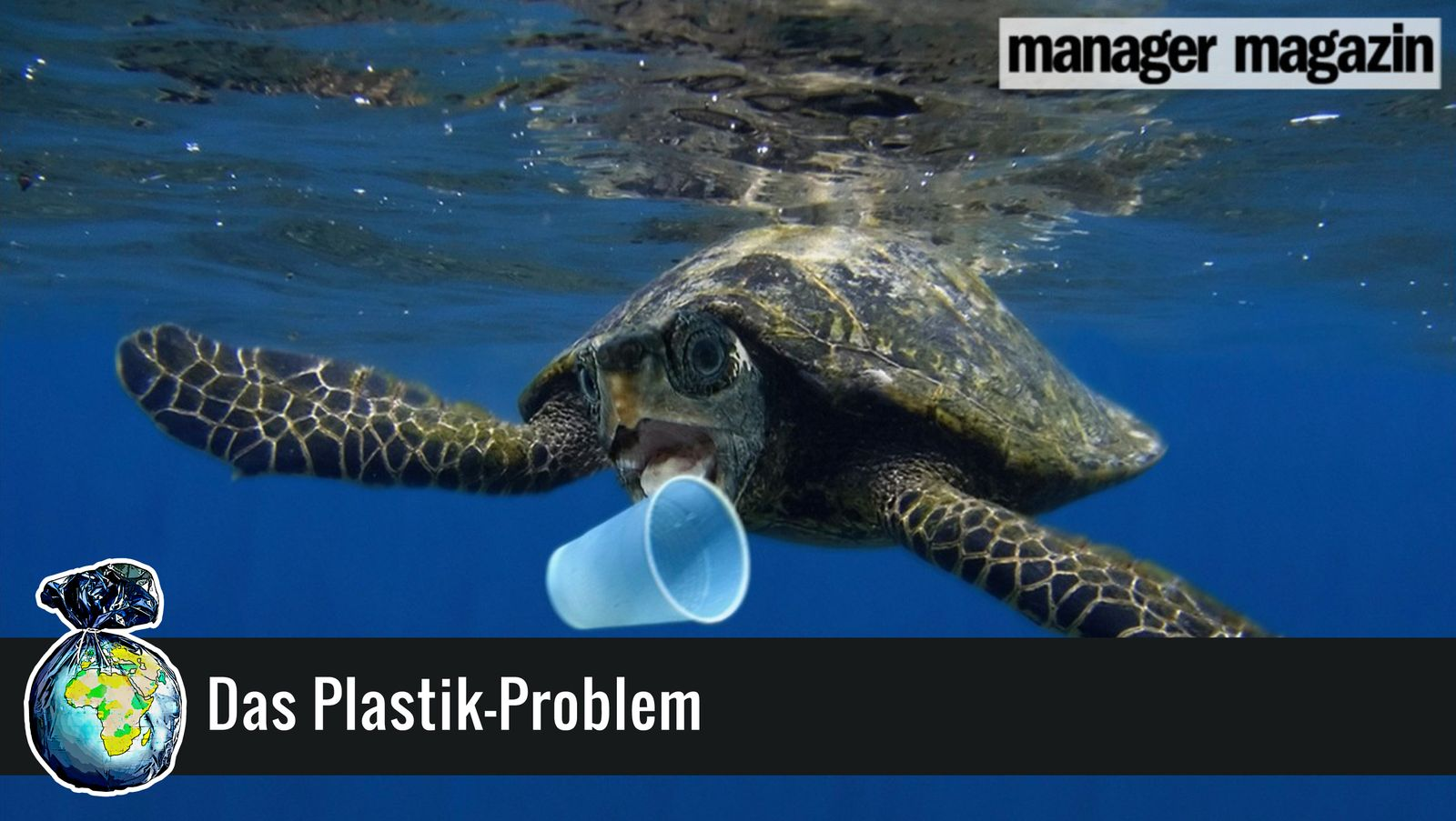 EINMALIGE VERWENDUNG MONTAGE Plastik-Problem