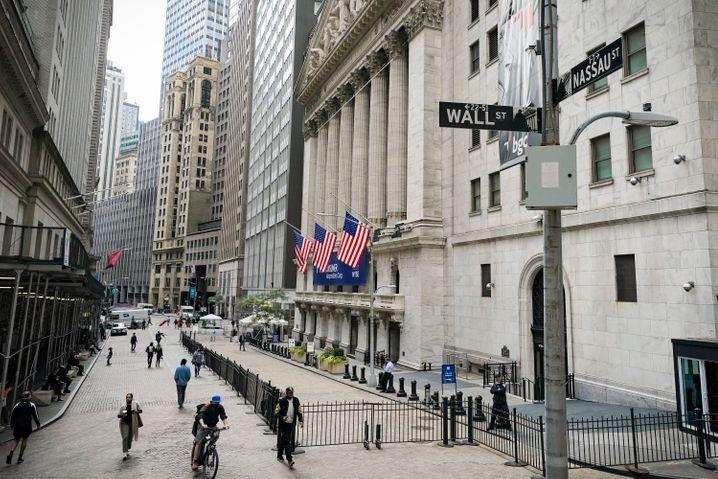 Heimat des Kapitalismus: Die US-Börse an der New Yorker Wall Street.