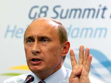 """""""Lassen Sie uns in Ruhe"""": Putin reagiert gelassen auf einen Oppositionellen"""