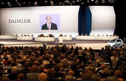 Frohe Botschaft für die Investoren: Der Daimler-Vorstand ist für eine um ein Drittel höhere Dividende