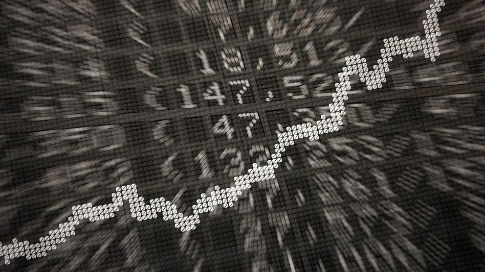 Dax-Kurve an der Frankfurter Börse
