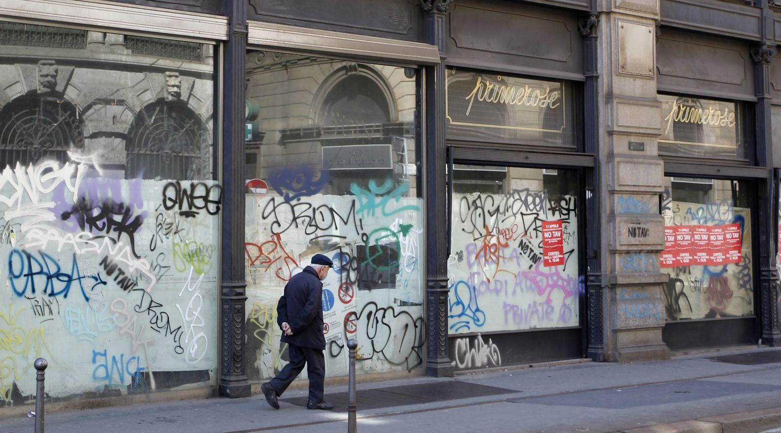 Italien / Finaz-Krise / Wirtschaftskrise