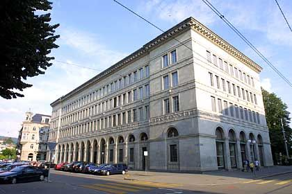 Zwei Zinsänderungen im vergangenen Jahr: Zentrale der Schweizer Nationalbank in Zürich