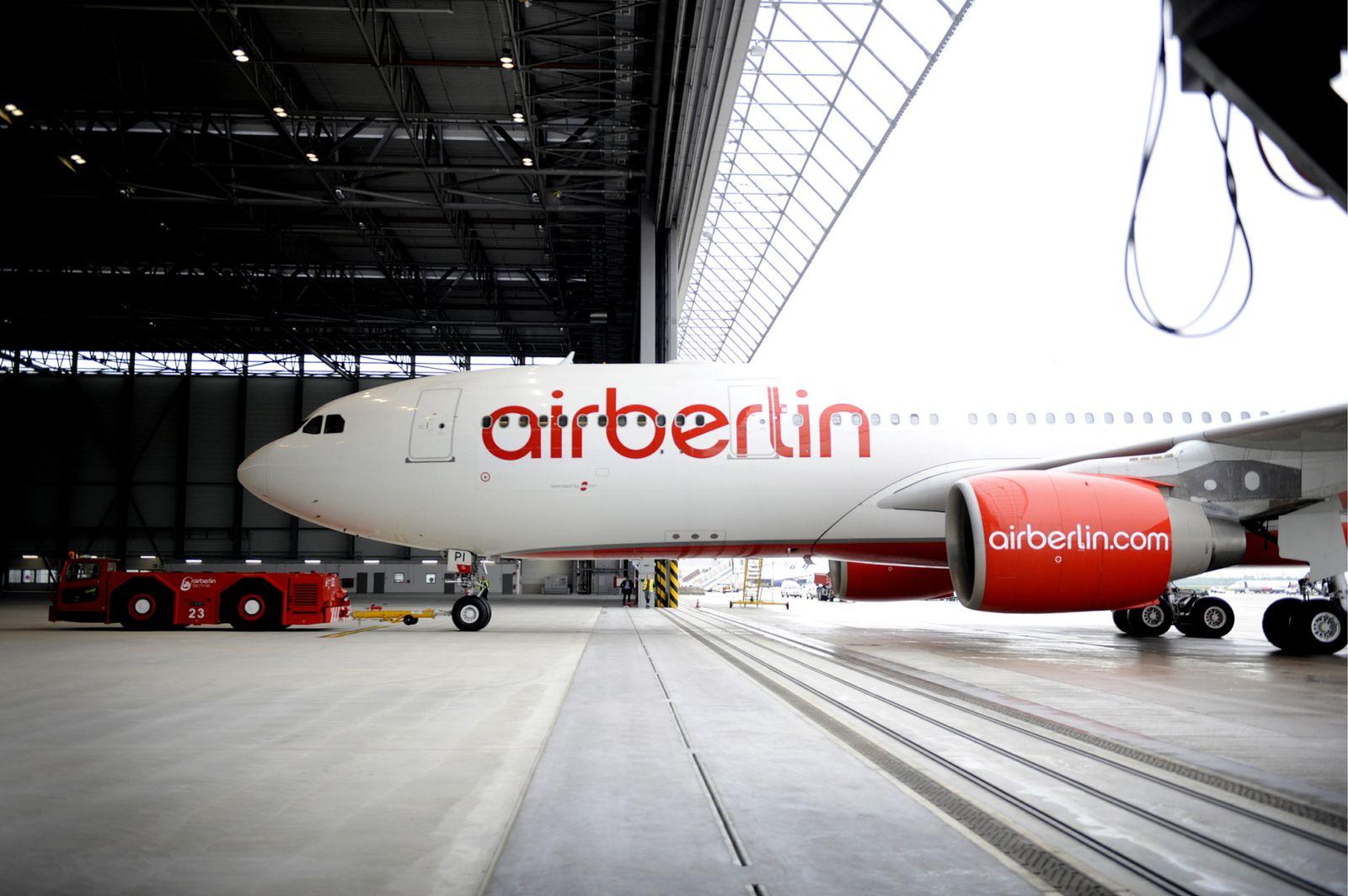 NICHT VERWENDEN Luftfahrt / Unternehmen / Flugzeug / Air Berlin