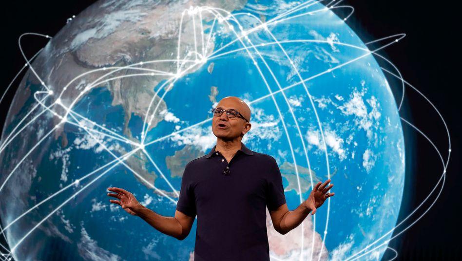 Keiner wird 2020 wohl mehr Dividende zahlen als er: Microsoft-Chef Satya Nadella.