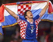Selbstbewusst ins Turnier: Kroatiens Superstar Davor Suker will wieder jubeln