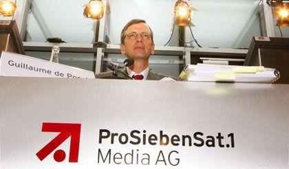 Dividende vor Qualität: ProSiebenSat.1-Regisseur de Posch