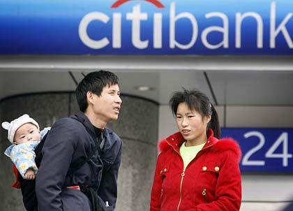 Internationaler Konzern: Citibank-Filiale in China