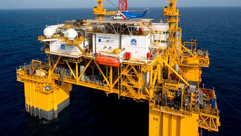 Öl-Plattform von Anadarko: Das US-Unternehmen hat gleich zwei Übernahmeofferten zur Auswahl.