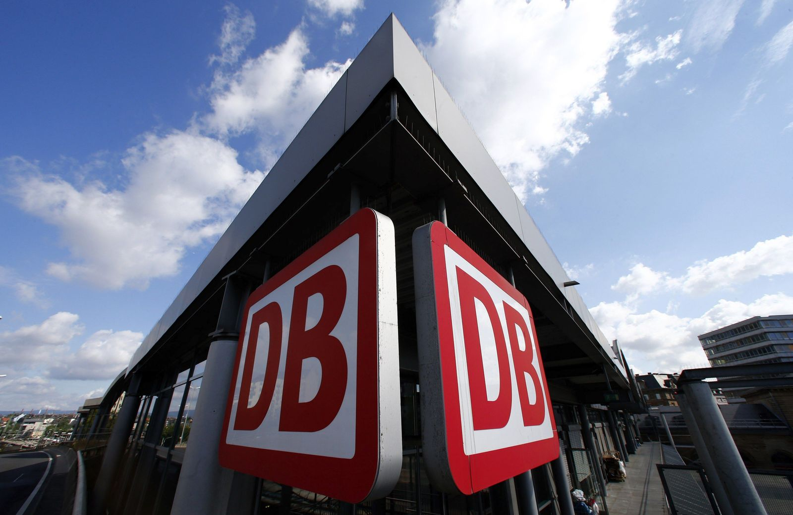 Deutsche Bahn/ Mainz/ Bahnhof