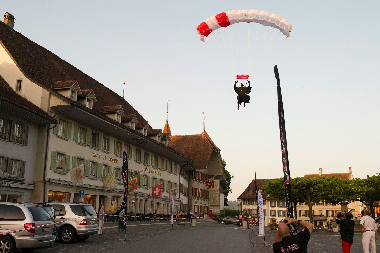Basejumper in der Schweiz