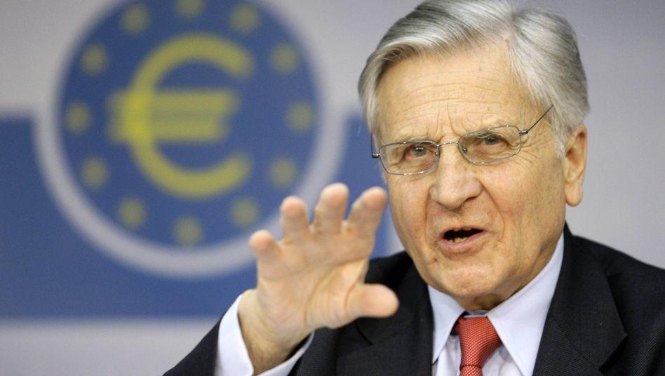 Der Weg bleibt derselbe: Die EZB und ihr Chef Jean-Claude Trichet belassen den Leitzins nun seit fast zwei Jahren bei 1,0 Prozent