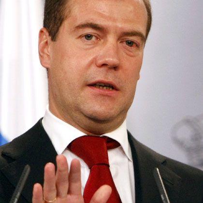 Kurswechsel: Russlands Präsident Medwedew setzt auf Energiesparen