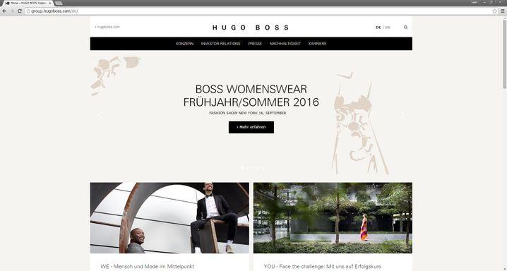 NetFed hat ein Herz für die Presse: Ein passwortgeschützter Medienbereich wirft Hugo Boss weit im Ranking zurück