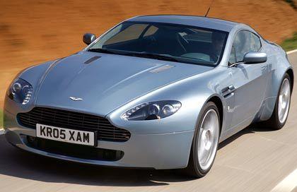 Beliebtes Spielzeug in Finanzkreisen: Der Aston Martin V8 Vantage