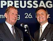 Mehr als ein Dienstverhältnis: Jahrelang erschien WestLB-Chef Friedel Neuber als Frenzels Übervater. Inzwischen hat dieser sich freigeschwommen