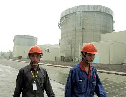 Atomkraftwerk in China: Die neun bisherigen Reaktoren decken nur 1,59 Prozent des Energiebedarfs