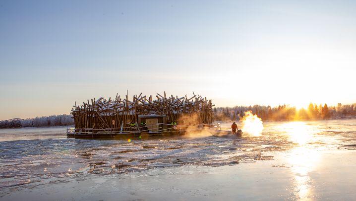 Arctic Bath Hotel: Abtauchen unter Nordlicht