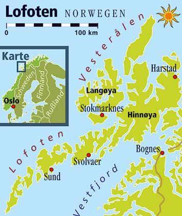 Ganz im Norden Norwegens: Die Lofoten sind auch im Winter eine Reise wert