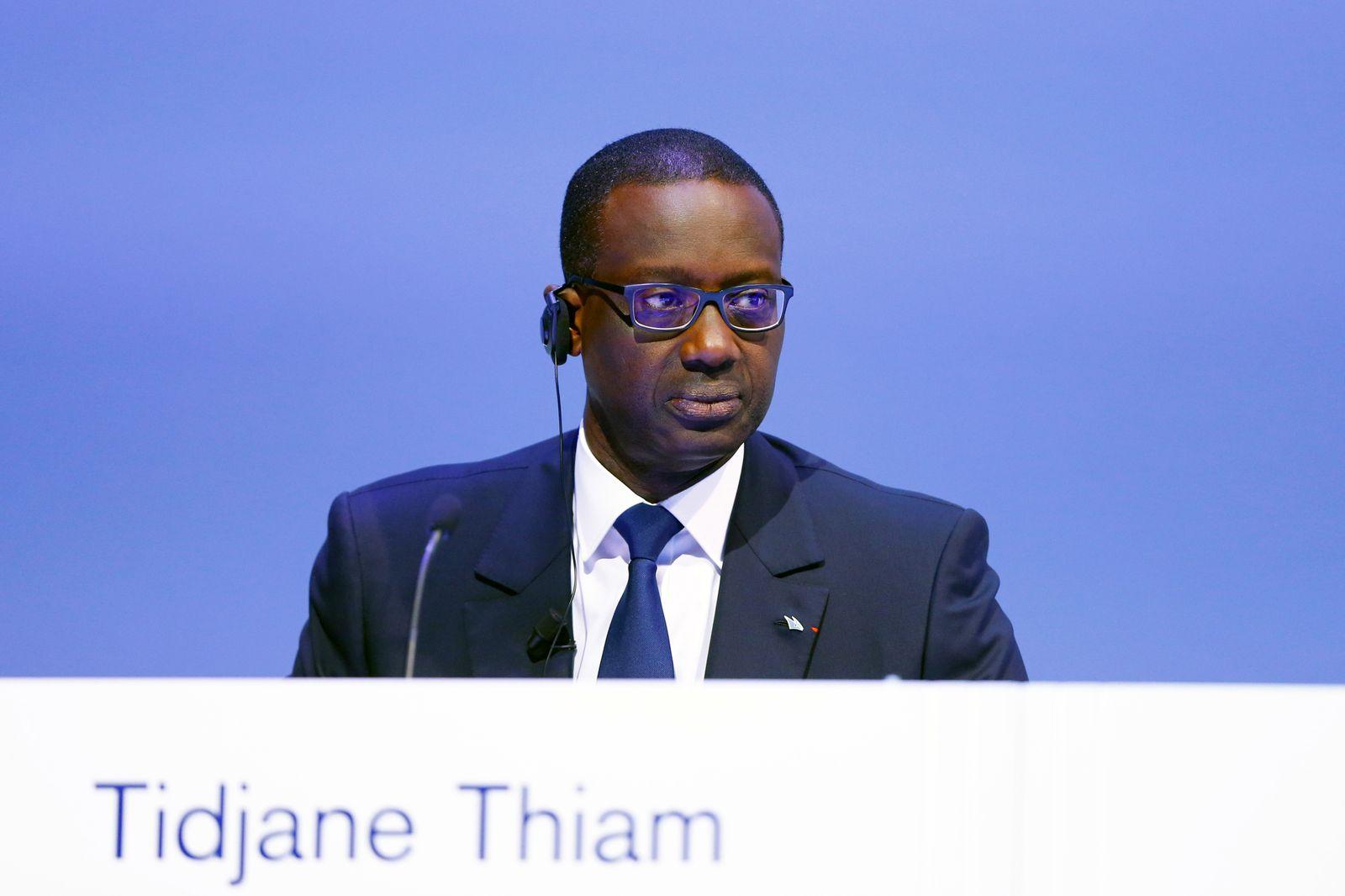 Banker/ Kampf/ Tidjane Thiam
