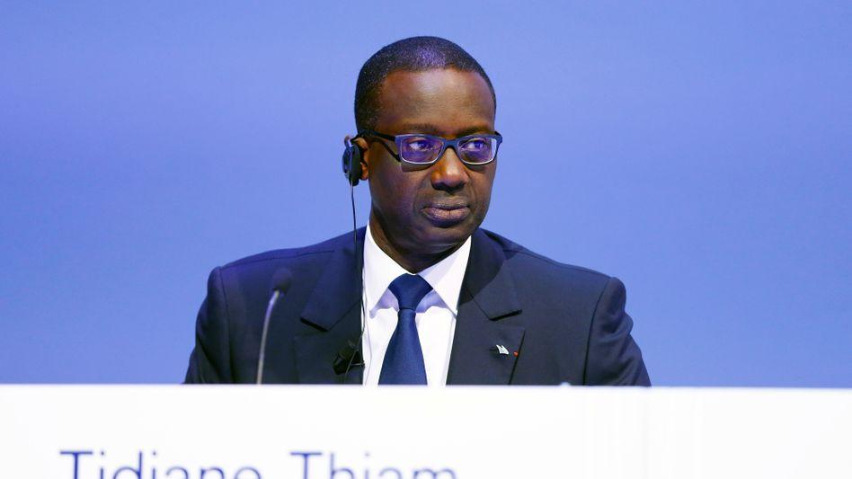 Credit-Suisse-Chef Tidjane Thiam: Hat seit Amtsantritt die Rendite der Bank kontinuierlich gesteigert, muss die Ziele für das laufende und das kommende Jahr aber zurücknehmen