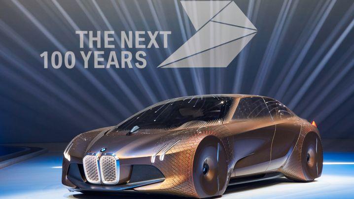 Auf die nächsten 100 Jahre: So stellt sich BMW das Auto der Zukunft vor