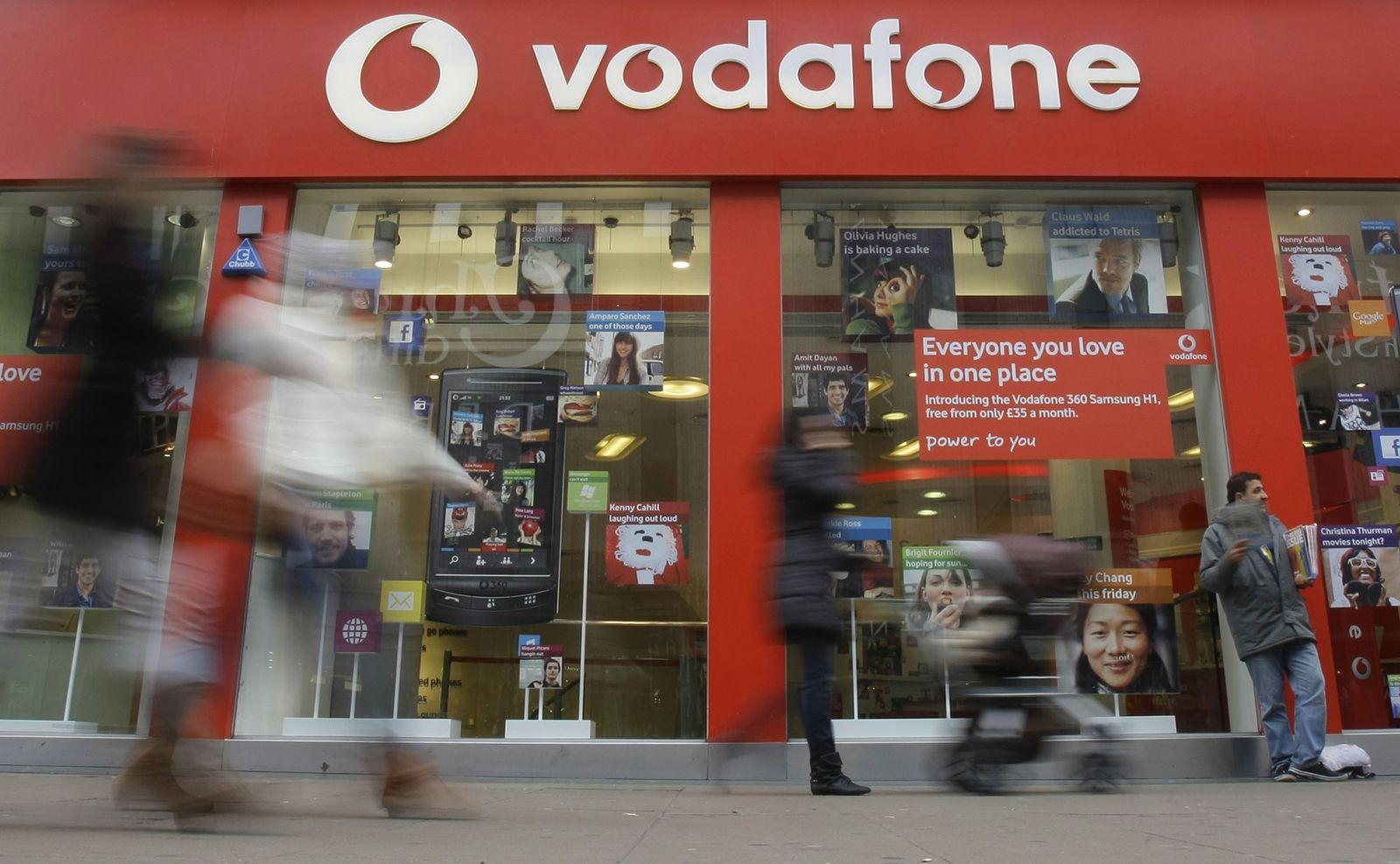 Marken international/ Vodafone