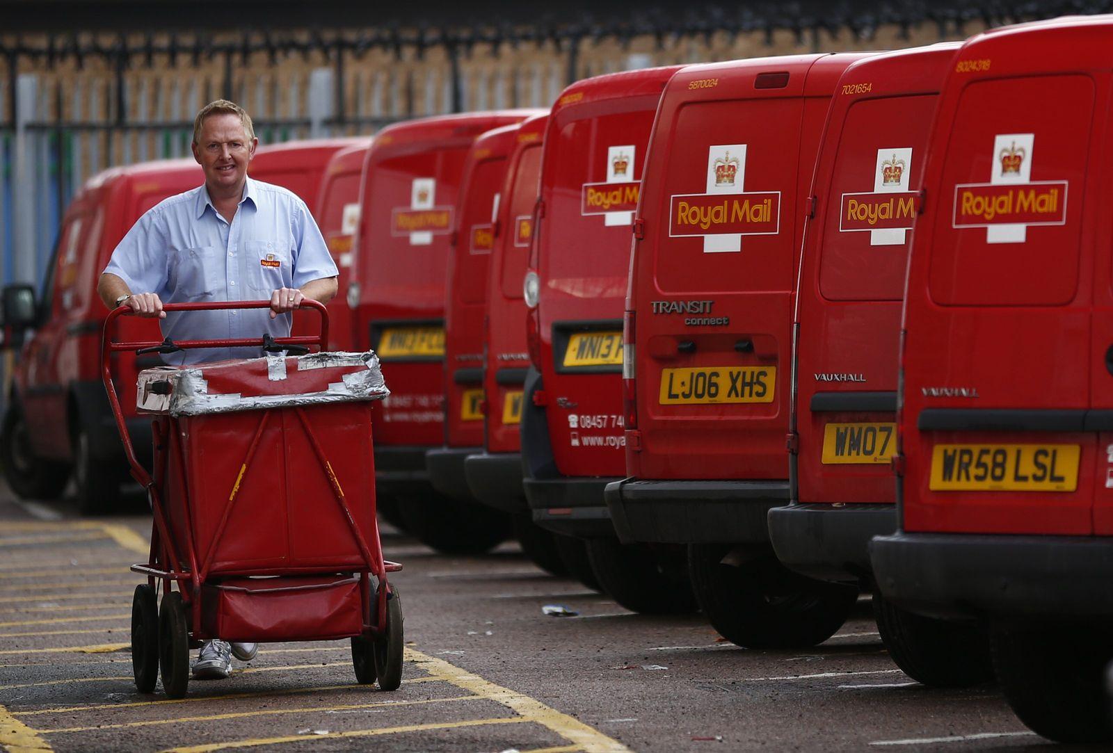 Großbritannien Royal Mail Post Privatisierung