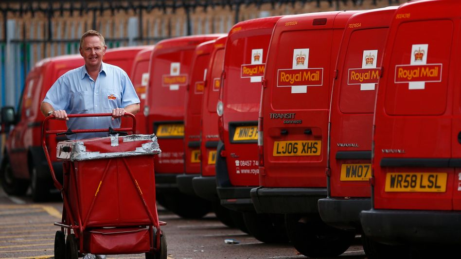 Britische Post: 150.000 Mitarbeiter sind für die Royal Mail im Einsatz, 10 Prozent der Aktien sind im Zuge des Börsengangs für sie reserviert