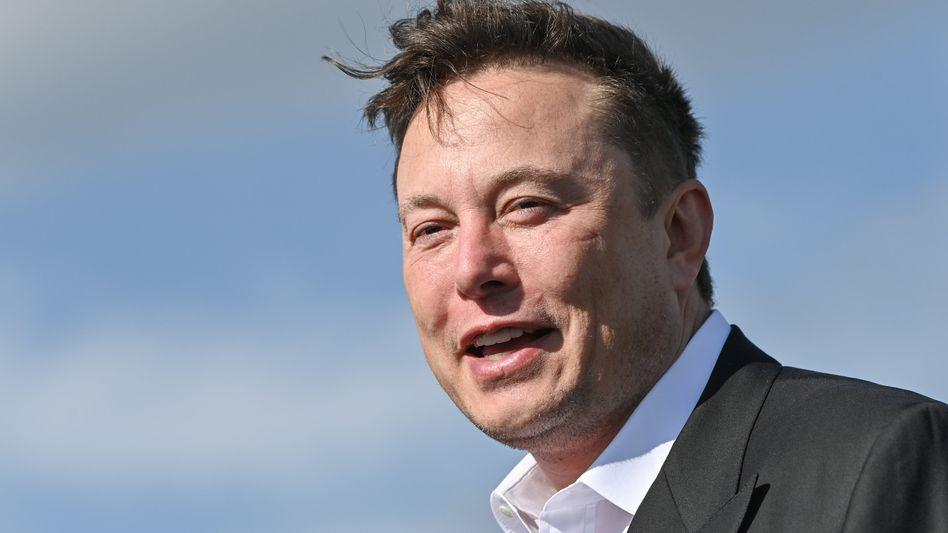 Tesla-Chef Elon Musk fährt der Konkurrenz gerade davon